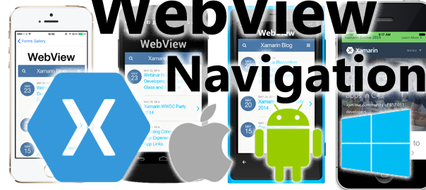 How to handle Xamarin Forms WebView internal Navigations