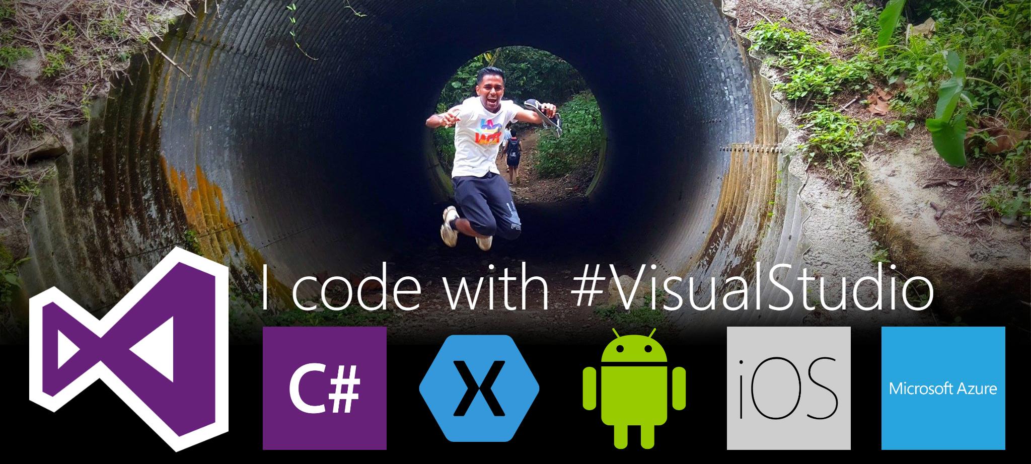 I code with Visual Studio 2