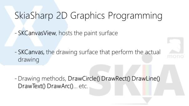So I gave a Tech Talk on SkiaSharp with Xamarin Forms