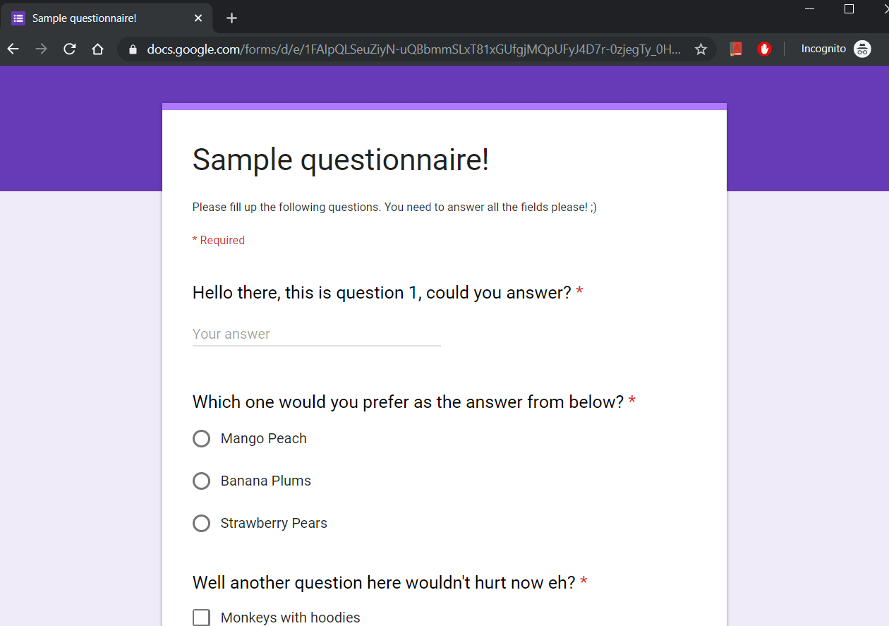 Programmatically Access Your Complete Google Forms Skeleton